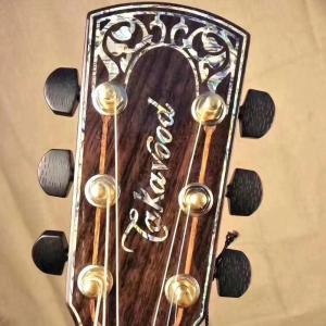 takavood大師系列手工琴TA-930C NA  41寸全單民謠