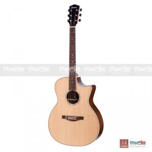 Eastman 伊斯特曼 PCH2 西提卡云杉玫瑰木單板原聲電箱民謠木吉他-40寸缺角