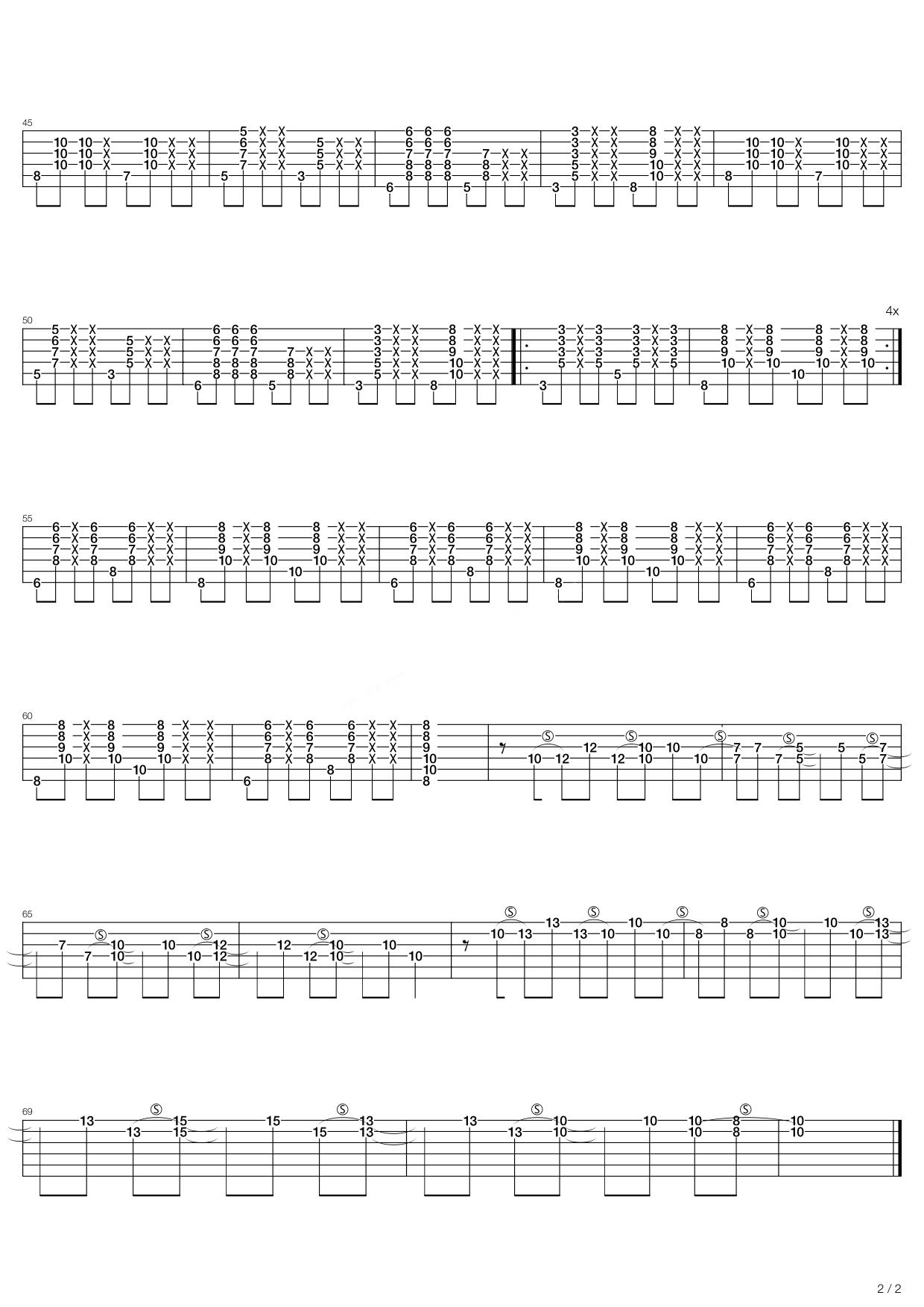 jack johnson吉他谱_Better Together吉他谱 Jack Johnson-彼岸吉他 - 一站式吉他爱好者服务平台